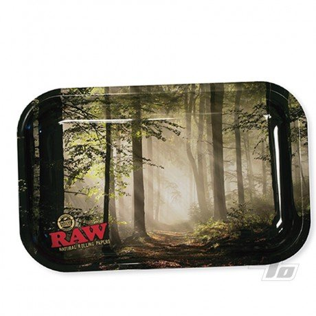 RAW Smokey Trees Small Rolling Tray