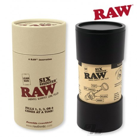 RAW Six Shooter Cone Filler for filling LEAN sized RAW Cones