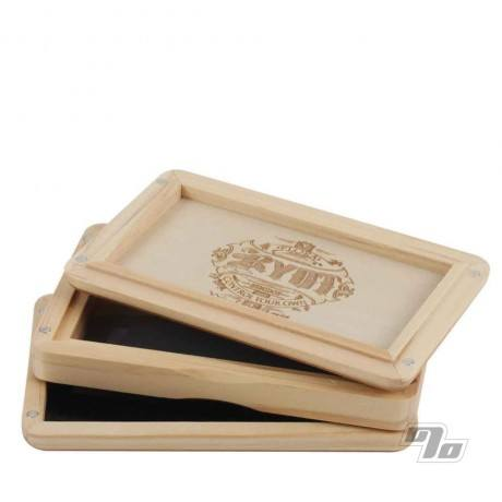 RYOT 3x5 Solid Top Pollen Box Natural open