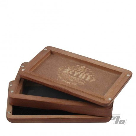RYOT 3x5 Solid Top Pollen Box in Walnut open