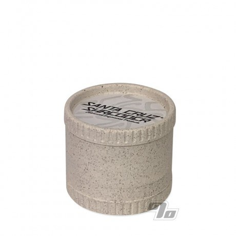 Santa Cruz Shredder 3pc White Hemp Grinder