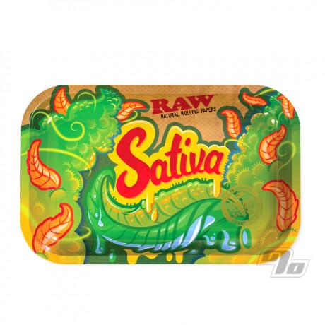 Sativa RAW Rolling Tray Small