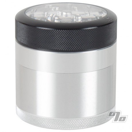 Kannastor Clear top 4 piece Grinder and Sifter