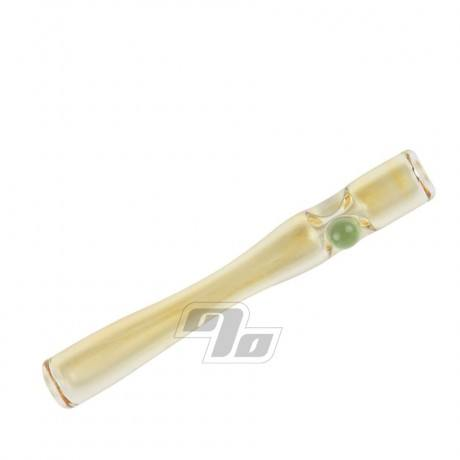 4in Silver Fumed Euro Glass Cigarette Holder
