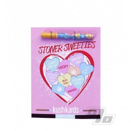 Stoner Sweeties Kush Hitter Kards Stoner Valentines Cards