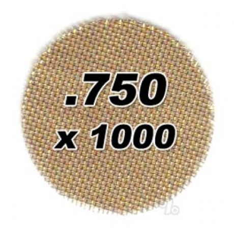 1000 .750 Brass Pipe Screens 2