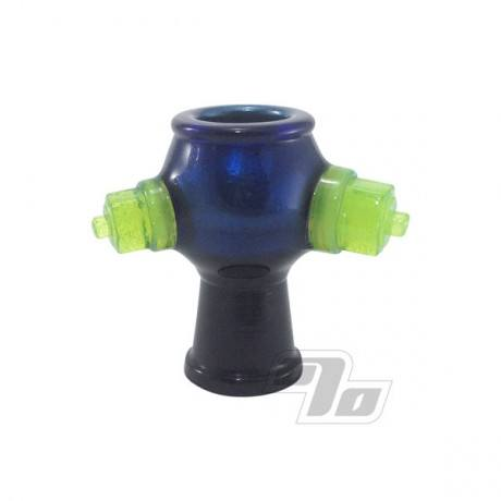 Zach Puchowitz Blue Velvet Slime Nut Glass Dome 14mm