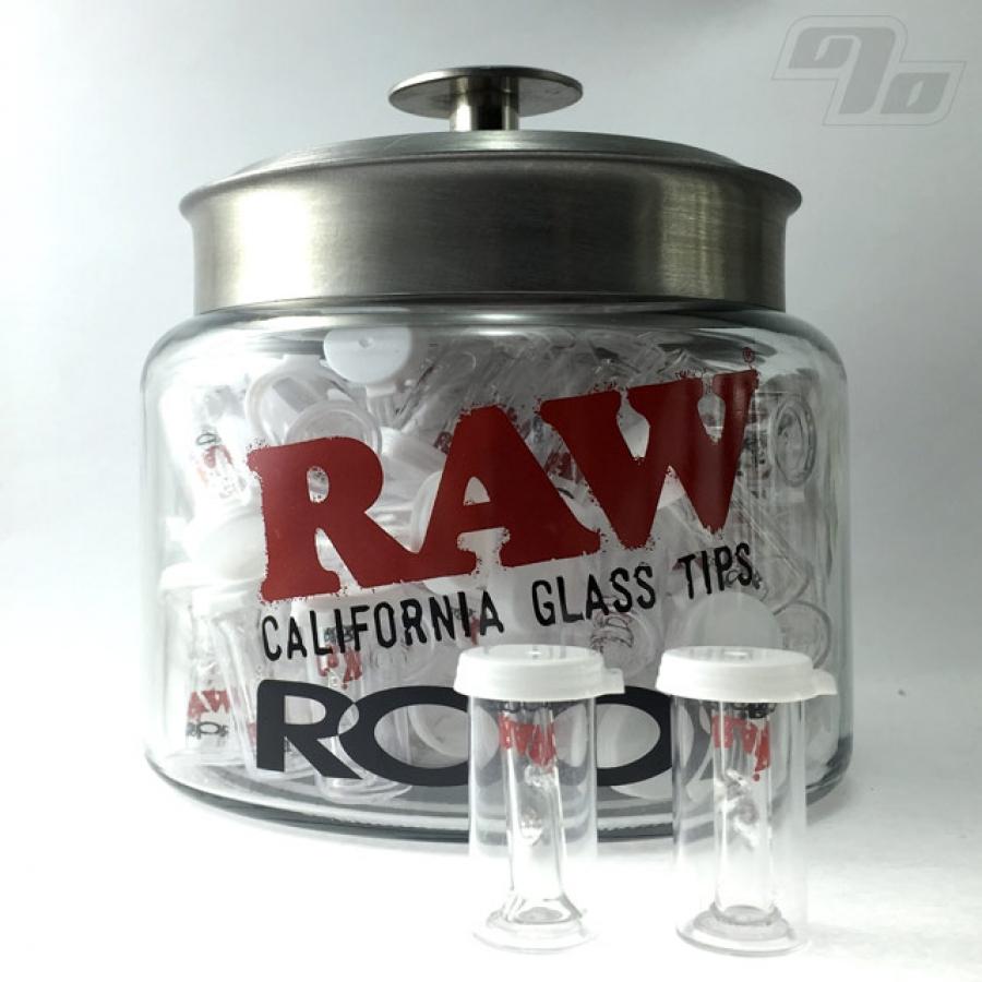 Raw Roor Slim Glass Filter W Round Tip 1percent