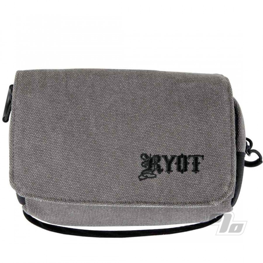 RYOT Piper Case Smell Safe in Grey @1percent