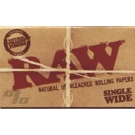 RAW Natural Rolling Papers Single Width