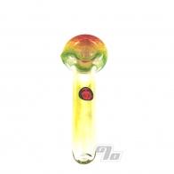 Rasta Mini Glass Spoon Pipe