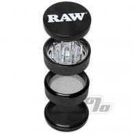 RAW Life 4-Piece Grinder in Black