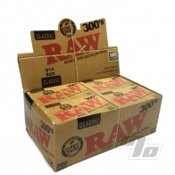 RAW Natural 300's 1 1/4 Rolling Papers