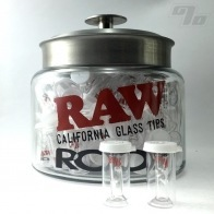 RAW + Roor Slim Glass Filter w/ Round Tip
