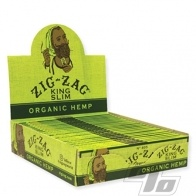 Zig Zag Organic Hemp KS Rolling Papers