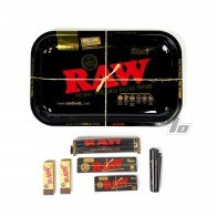Black RAW Rolling Papers Bundle