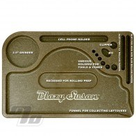 Blazy Susan Hemp Plastic Rolling Tray