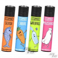 Clipper Lighter Food Sayings 6