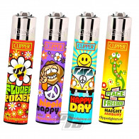 Clipper Lighter Hippie
