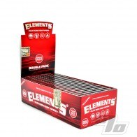 Elements Red Hemp Rolling Papers SW
