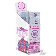 High Hemp Organic Bare Berry Wraps