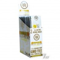 High Hemp Organic Banana Hemp Blunt Wraps