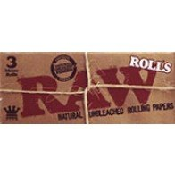 RAW Natural Rolling Paper On A Roll