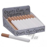 Large Quartz Glass Cigarettes Box/20