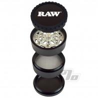 RAW Life 4 Piece Grinder in Black