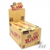 RAW Single 70/30 Cones 20 Pack