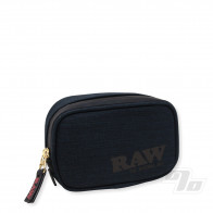 RAW Black Smell Proof Pouch Small 1/2 OZ
