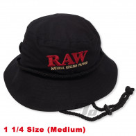 RAW Smokermans Hat Black Medium