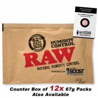 RAW x BOOST 62% Humidity Pack 67 gram