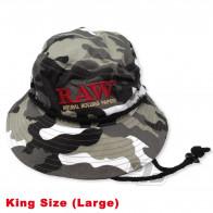 RAW Smokermans Camo Hat Large