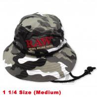 RAW Smokermans Camo Hat Medium