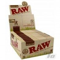 RAW Organic Hemp KS Slim Rolling Papers