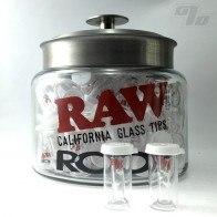 RAW + Roor Glass X-Tip w/ Round Tip