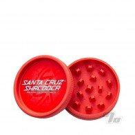 Santa Cruz Shredder Red Hemp Grinder