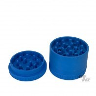 Santa Cruz Shredder 3pc Blue Hemp Grinder