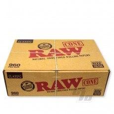RAW SW Cones 70/30 960 Bulk Pack