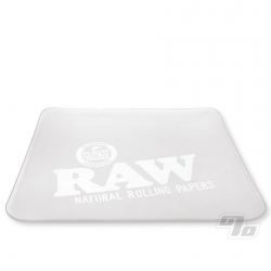 RAW Glass Rolling Tray Frosted Ice