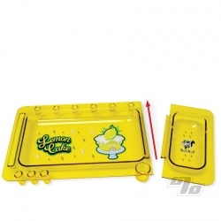 Skunk Rolling Tray Lemon Cake