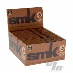 SMK Brown KS Unbleached Rolling Papers