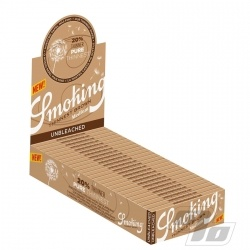 Smoking Thinnest Brown 1 1/4 Rolling Papers