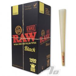 RAW Black King Size Cones 1400 Bulk Pack