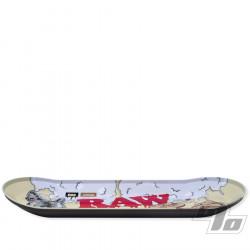 RAW x Boo Johnson Skate Deck Rolling Tray