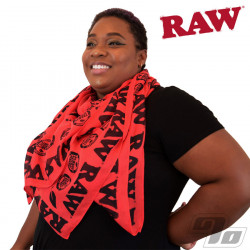 RAW Red Fashion Scarf