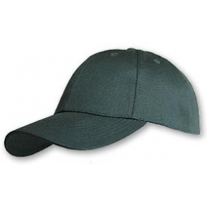 Hemp/Organic Cotton Baseball Cap - Structured Green