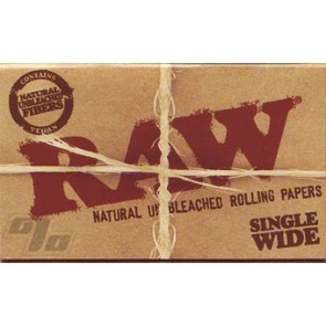 RAW Single Width Rolling Papers