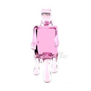 Chaka Pink Ice Cube Pendant